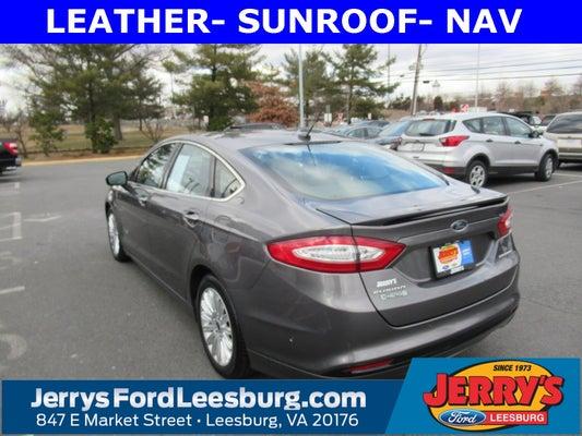 2013 Ford Fusion Energi Titanium Leesburg Va Ashburn Sterling Chantilly Virginia 3fa6p0su3dr252861